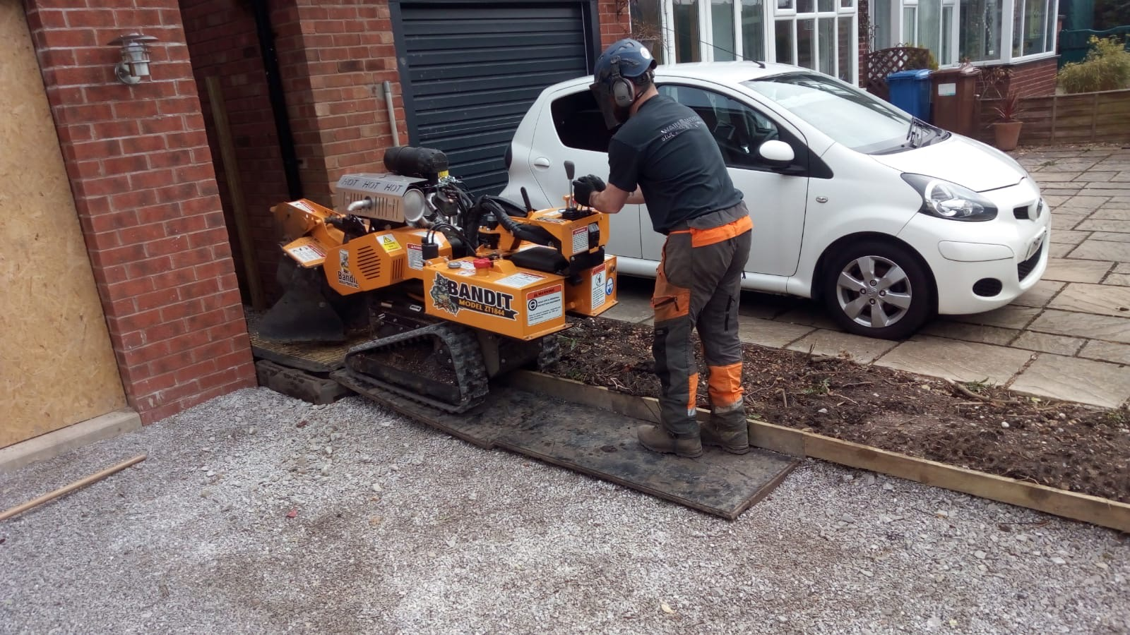 Stump Grinder in Timperley