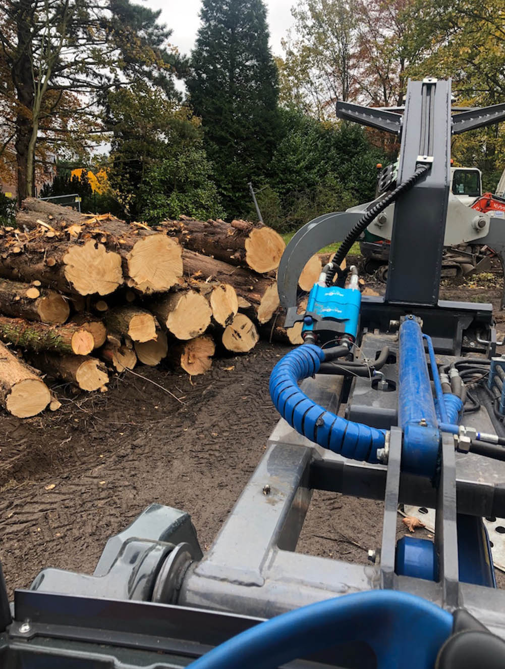 Multione Loadall Wainwright Stump Removal Cheshire
