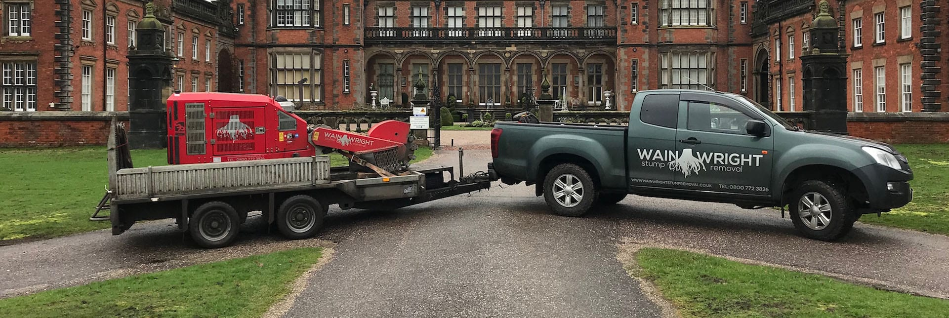 Stump removal in Bowdon Greater Manchester